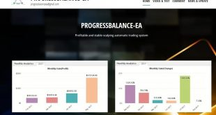PROGRESS BALANCE- Not Grid or Martingale  EA