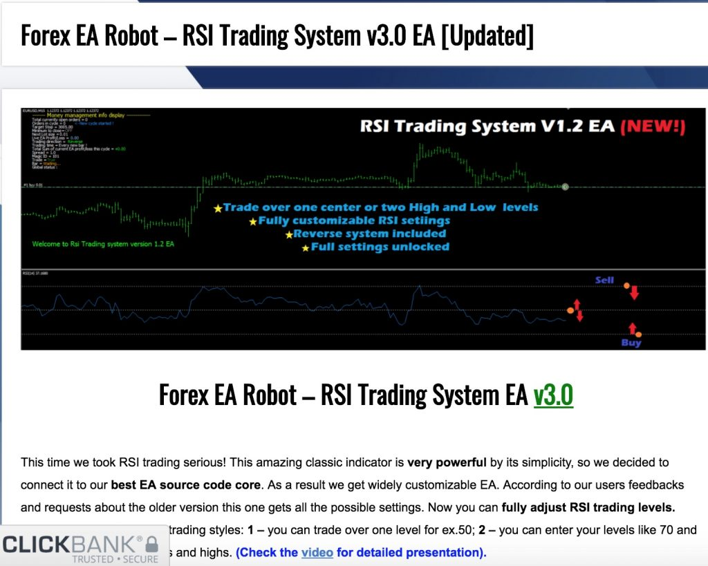 Trading system ea